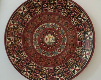 Aztec Plate Wall Hanging