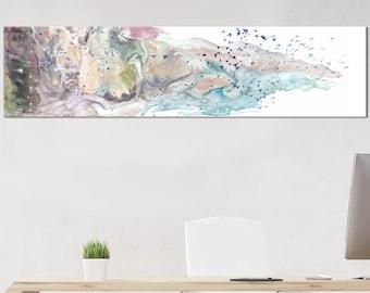Painting canvas art - Neutral color - canvas art - bird art