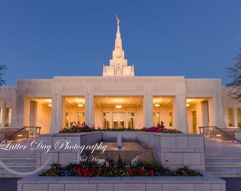 Phoenix Arizona Temple - Fine Art Photography Print - Home Decor LDS Mormon Temple