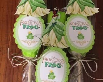 Princess and the frog  Marshmallow Party Favors