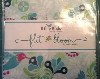 Riley Blake Flit and Bloom Charm Pack