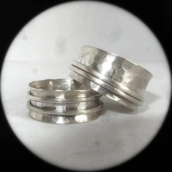 bijoux bague de pouce anneau de spinner bague de m ditation. Black Bedroom Furniture Sets. Home Design Ideas