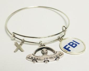 X-Files Bracelet Bangle