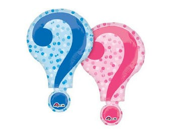 Gender Reveal Party balloon - 2 sided design
