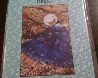 Raggedy Dress Dogwood  Land Fabric Art Sewing Pattern
