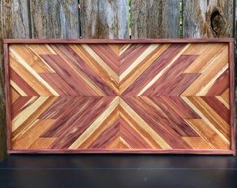 Sanctify- Reclaimed Wood Wall Art