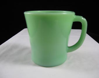 Fire King Jadeite Restaurant Ware Coffee Mug With D Handle