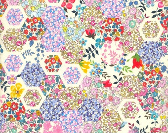 Liberty Tana Lawn, PATCHWORK STORIES A, SS18 A Pocket Full of Memories, buy by the fat quarter or metre