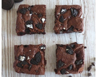 Oreo Brownies (Box of 4 or 9 squares)