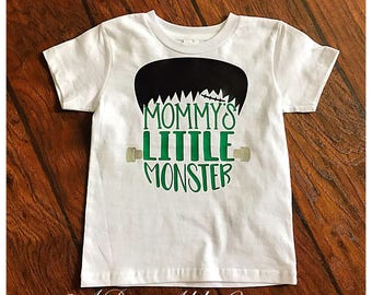 Mommy's Little Monster Halloween shirt