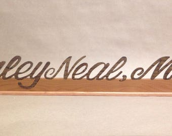 Doctor Name Plate