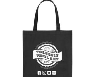 Tolhurst Vinyl Art Tote Bag