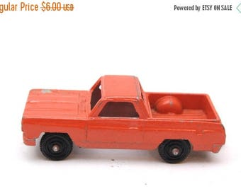 Red Pick Up Truck Etsy