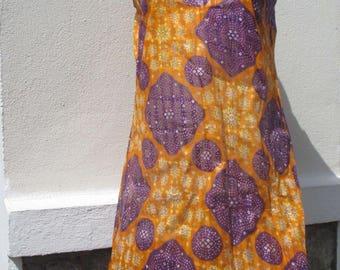 African fabric ethnic tunic dress