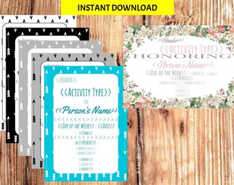 Custom Invitations - Instant Download for birthday, baby shower, etc!