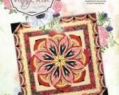 Vintage Rose - Queen -  Foundation Paper Piecing pattern by Judy Niemeyer / Quiltworx