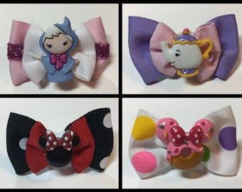 Magic Band Bows Bow Disney Minnie Fairy Godmother Ms Potts Donut Party Gift