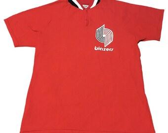 Vintage Portland Trail Blazers Official Warm-Up Shirt