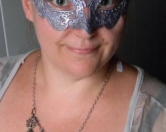 Silvered Lilac Mask
