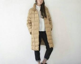 Vintage Moncler puffy down coat,puffer jacket,classic,Italian,women's winter Melania, goose,70s,ski,lady,gift,mom, original,warm,snow