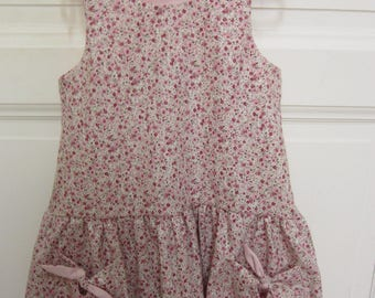 dress with braces girl bows