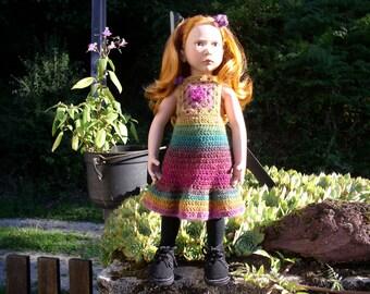dress and headband crochet for Marlene