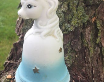 Ceramic Unicorn bell
