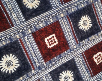Vintage Hawaiian Barkcloth Fabric