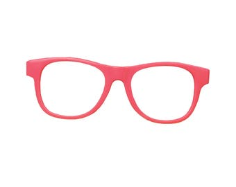 DIGITAL Pink Glasses Accessory. One of a kind prop!