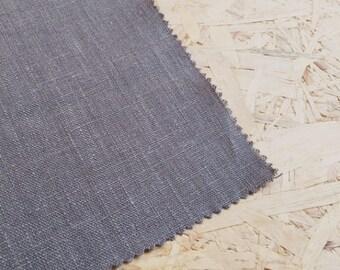 Linen Fabric- Charcoal Grey- Grey Fabric- Grey Linen Fabric- Dark grey- Plain Fabric- Curtain Fabric- Dressmaker linen- Fabric per metre