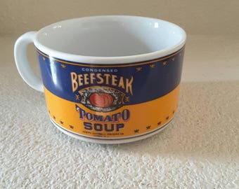 1994 Beefsteak Tomato Soup Cup Campbell Soup Co. By Westwood