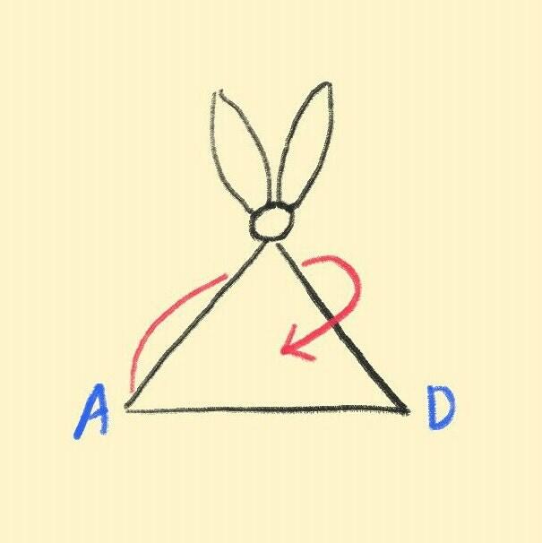 Tie corners together