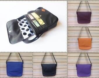 JW Ministry Bag-Faux Leather. Women's Ministry bag/Magazine holder/Tract holder/Messenger bag/Adjustable strap/Service bag