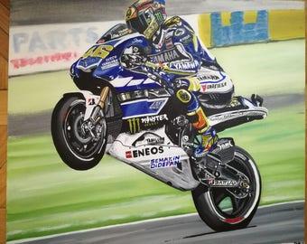 Valentino Rossi - Original Painting