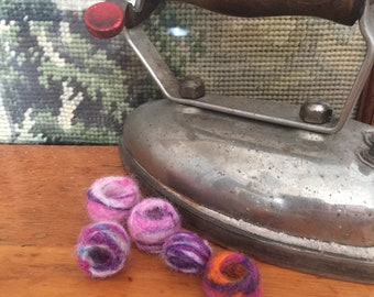Hand Felted Dread Beads