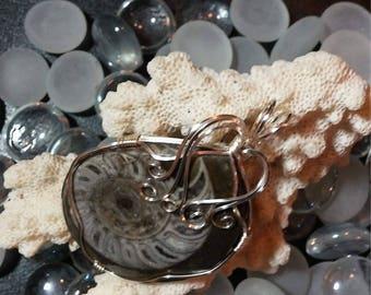 Fossil JewelryAmmonite Jewelry Ammonite fossil Ammonite necklace Ammonite pendant Ammonite Fossil necklace Fossil pendant Fos