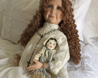 Vintage Nancy Spain Artist doll Kaitlin Limited Edition #43of 100