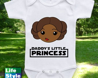 Daddy's Little Princess Matching Father Daughter Shirts, (Daughter Shirt Only) African Baby Bodysuit, Matching Family Shirts, Easy CT-1231
