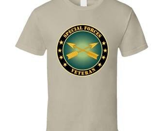 Army - Special Forces Veteran T Shirt