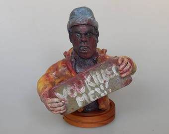 Creepshow 2 - The Hitchhiker - Custom Made Figure - Thanks for the ride lady! - Horror Movie - OOAK - One of a Kind - Stephen King - Romero