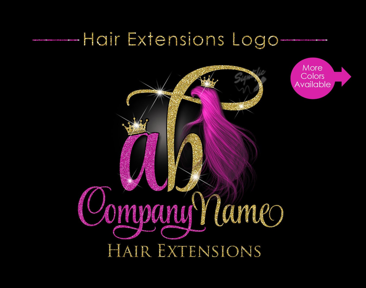 Images Of Hair Extension Logo Design Spacehero