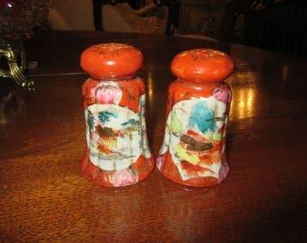 CHINA SALT and PEPPER Shaker Set