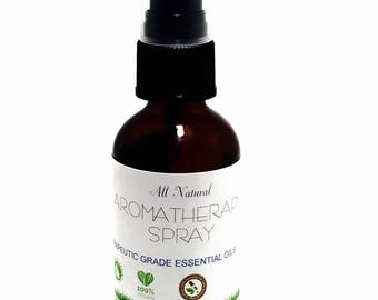 Sage Smudge Clearing Spray 2oz Energy Cleaning, aura cleanse aromatherapy spray