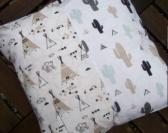 Cushion - Cactus & tipi