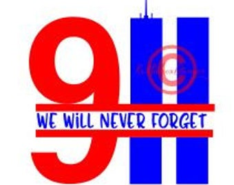 Twin Towers Svg, 911 Svg, Split Svg, We Will Never Forget Svg, Patriot Day Svg, Dxf