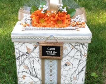 Camo Wedding Card Box,camo Wedding,camo Wedding Dress,camo Wedding Rings,