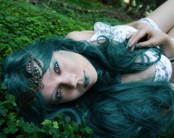 Metal tiara headpieces cosplay fantasy Elf