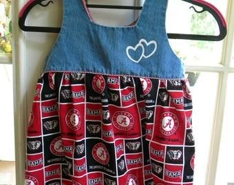 Alabama Dress 2T  roll tide