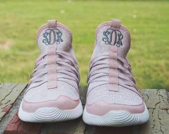 Monogram Tennis Shoes, Monogram Sneakers, Monogram Shoes, Personalized Shoes, Footwear, Cheer Shoes, Athletic Shoes