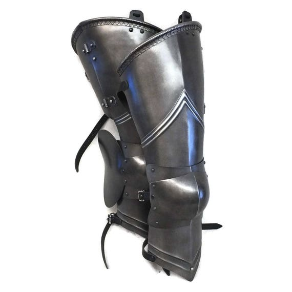 Larp Armour Decorative Gothic Upper Legs